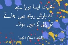 Mohabat Aisa Darya Hay